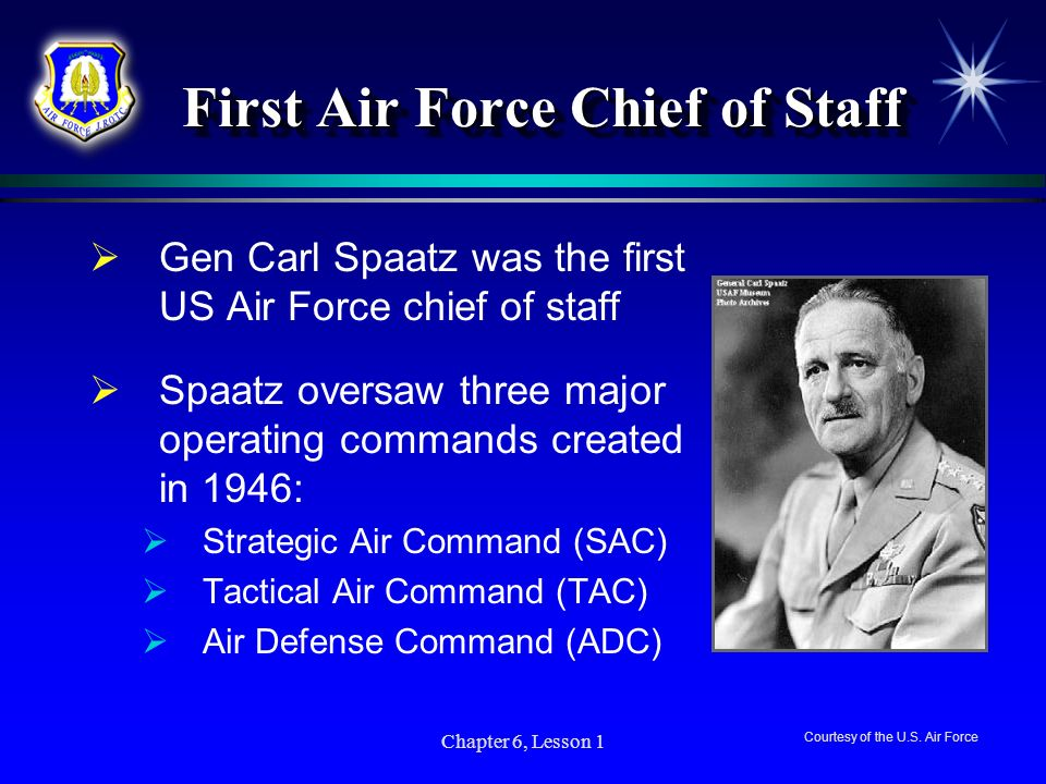 First Air Force Chief of Staff