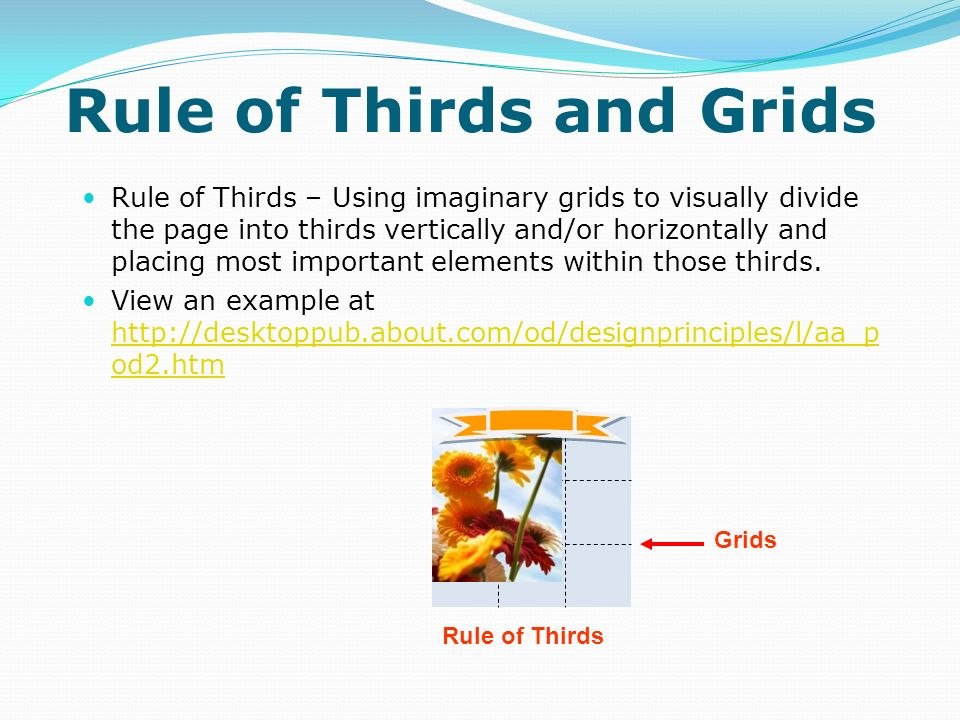 Rule of Thirds and Grids
