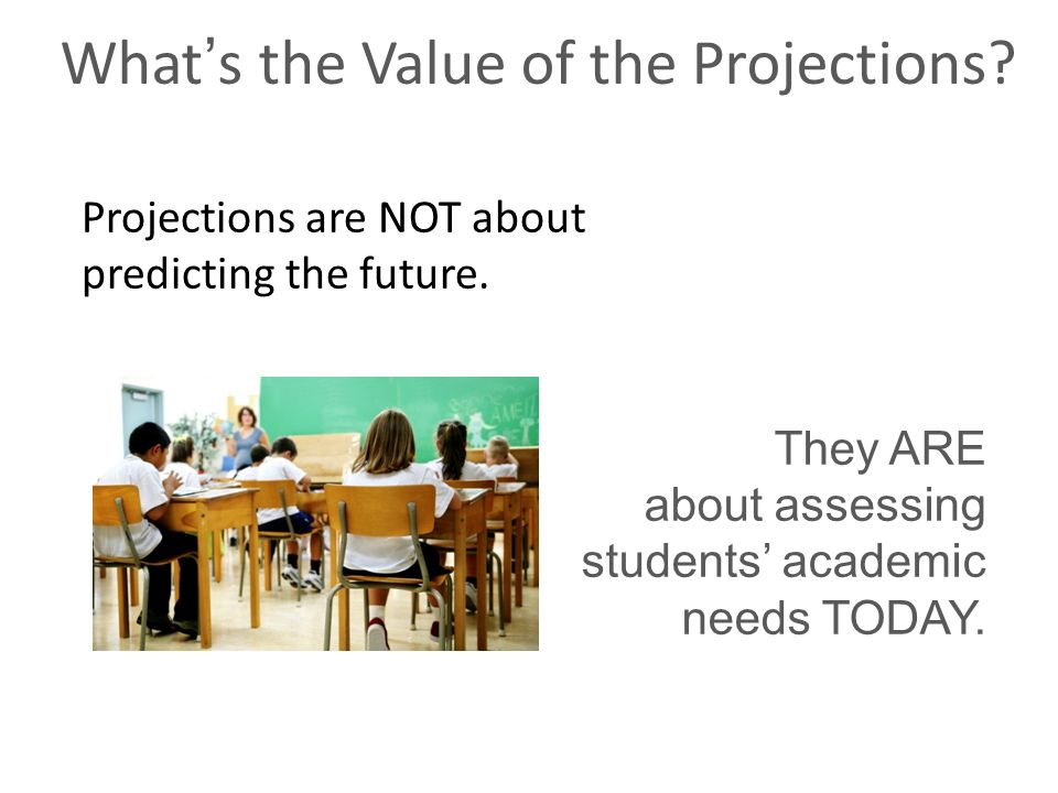 What's the Value of the Projections