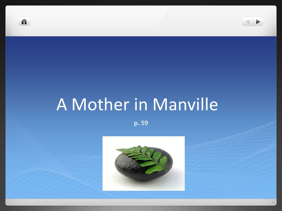 a mother in manville Essays the story a mother in manville - homework helper lesson 5 @eatchronictacos could you share this for a graduate school research paper thank you.