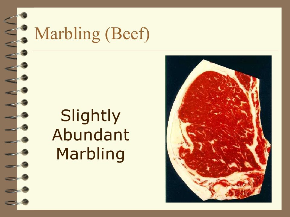 Slightly Abundant Marbling