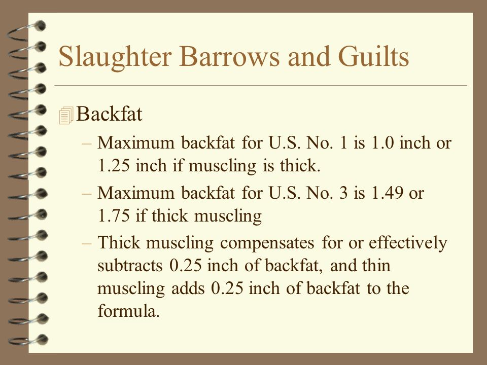 Slaughter Barrows and Guilts