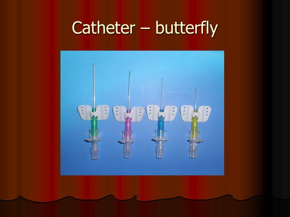 Catheter – butterfly