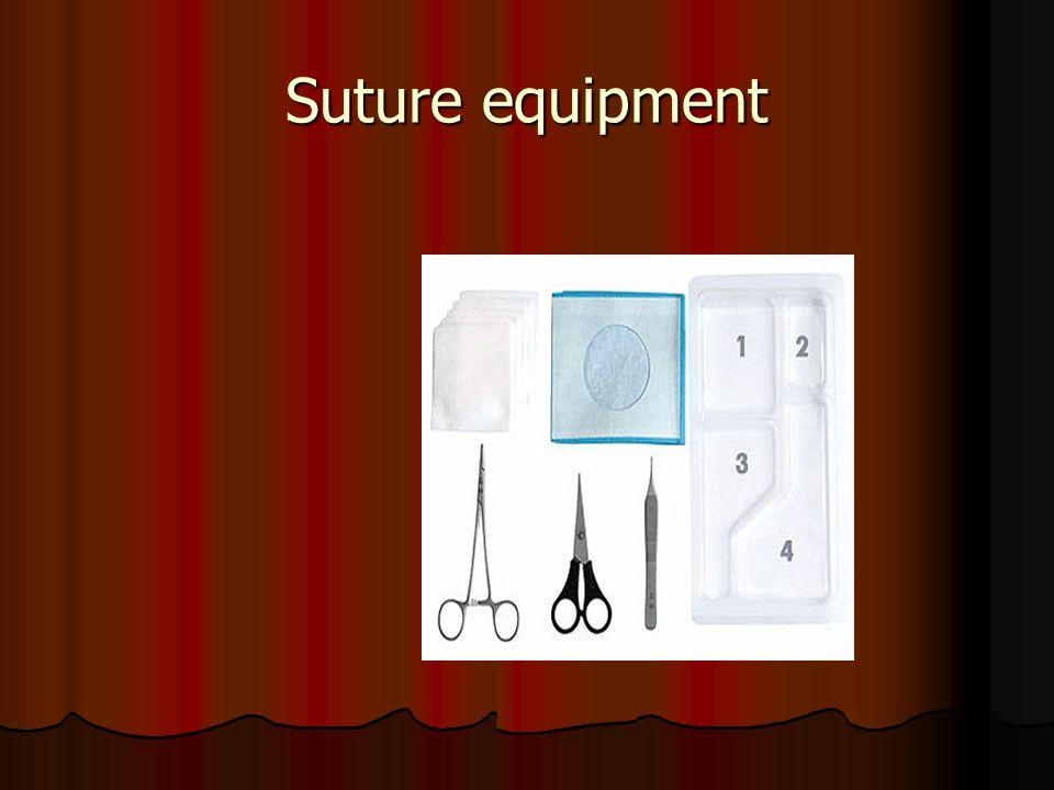 Suture equipment