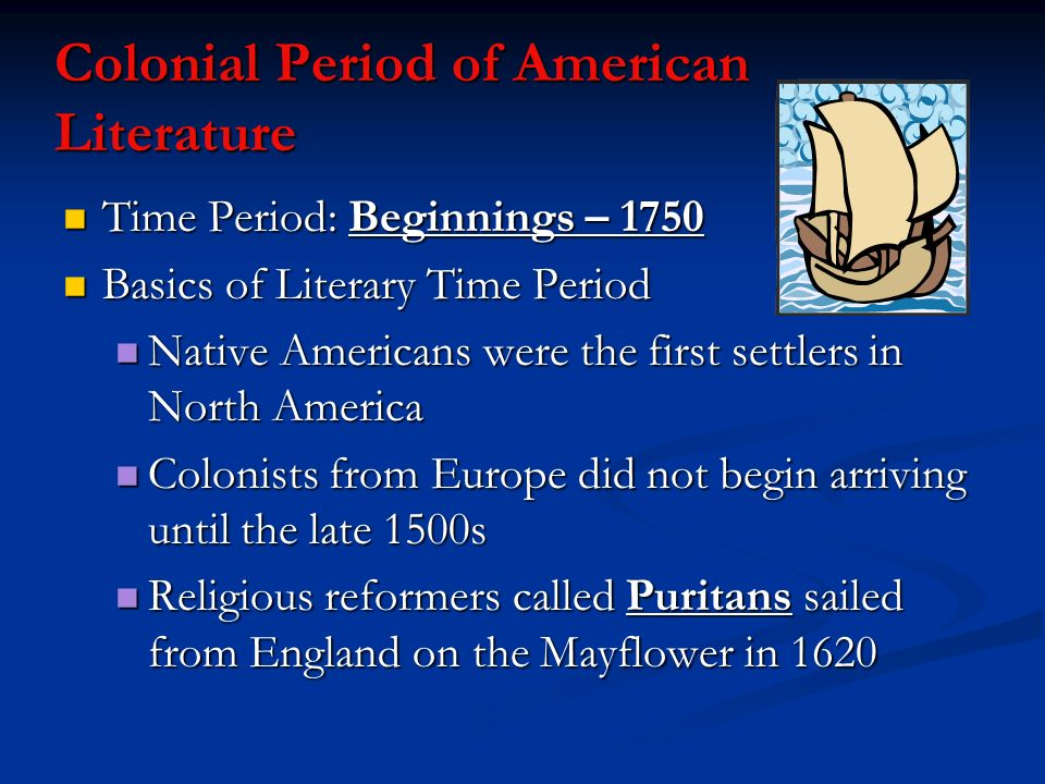 the american period of colonization essay The african-american mosaic colonization home  the post- civil war period has not been thoroughly examined  american colonization society papers,.