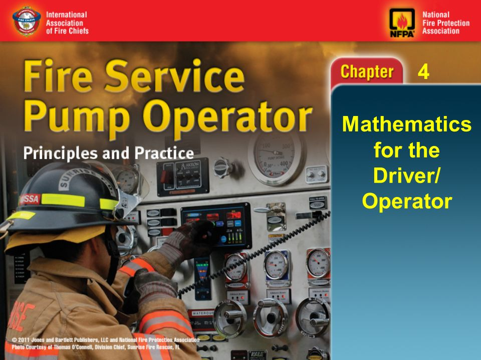 Fire Service Pump Operator 04 Mathematics For The Driver Operator
