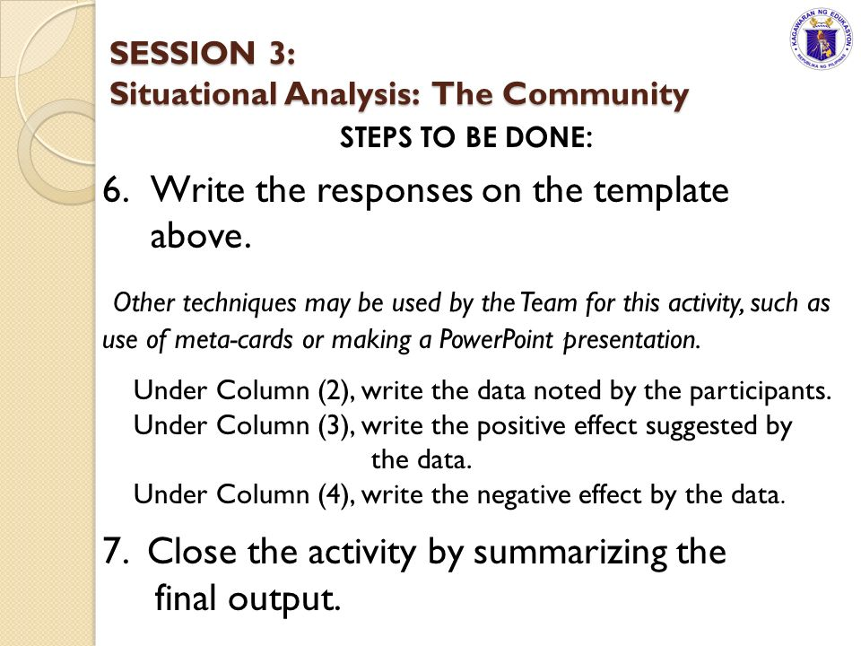 the four steps involved in data analysis of the community Steps in conducting a scholarly mixed methods study qualitative data analysis steps: quantitative community members need to evaluate the success of a program by using a needs.