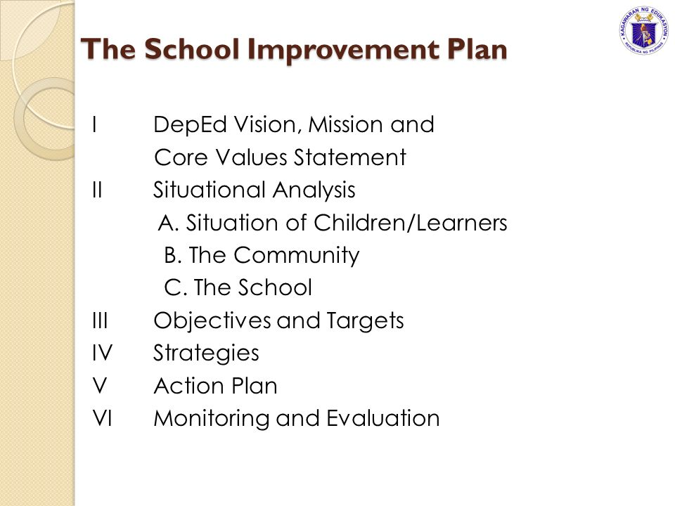 School improvement planning sip guide ppt download the school improvement plan toneelgroepblik Images