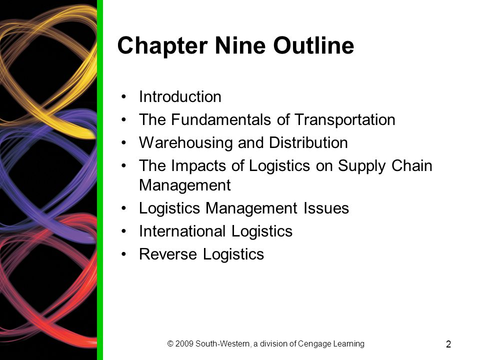 © 2009 South-Western, a division of Cengage Learning