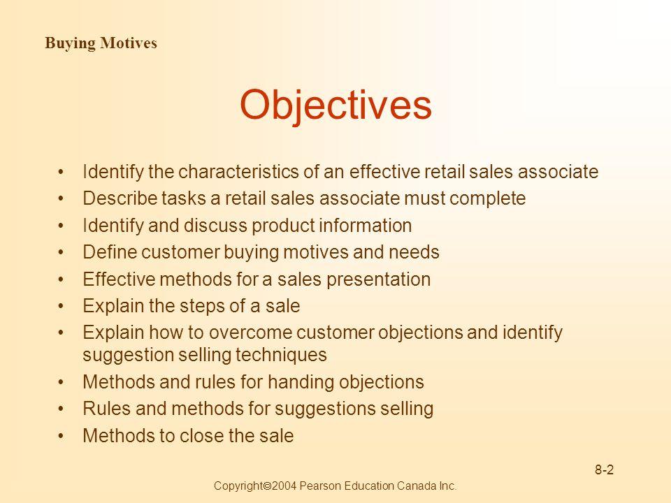 sales assistant definition