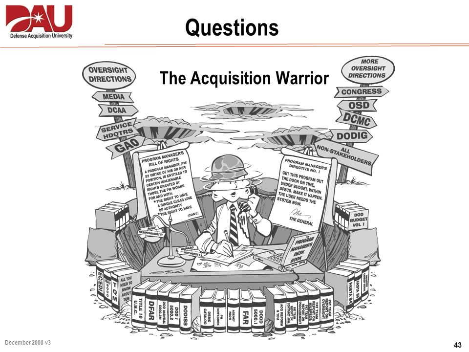The Acquisition Warrior