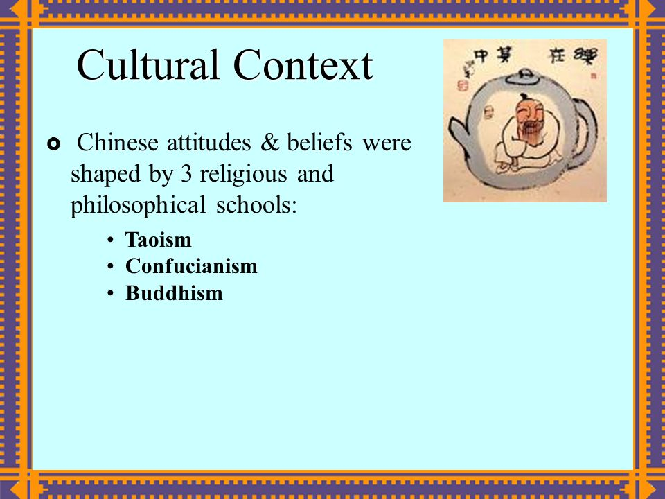"the philosophical and religious concept of taoism The ancient chinese religion of taoism is not entirely distinct from confucianism is a fundamental concept in chinese philosophy and ""taoist beliefs."