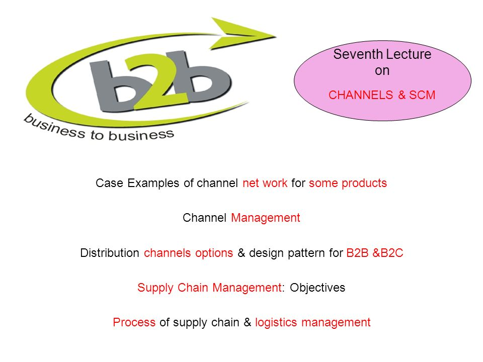 Seventh Lecture on CHANNELS & SCM - ppt download
