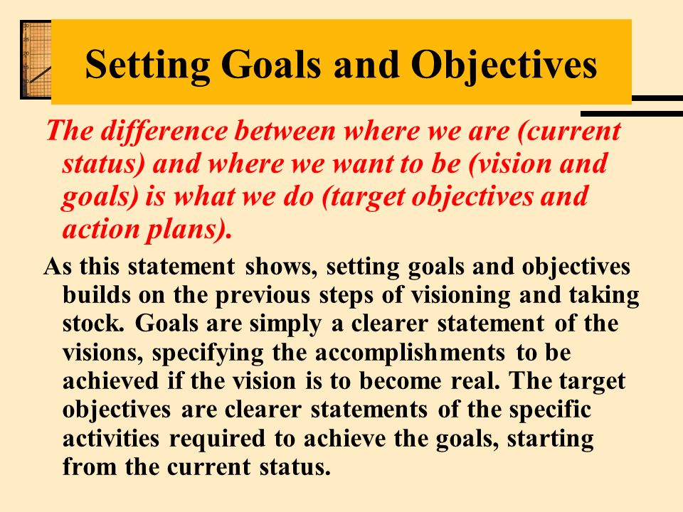 goals and vision essay U10 7-9page paper vision and goals by the time you complete this final assignment, you will have gained a lot more knowledge and insights about.