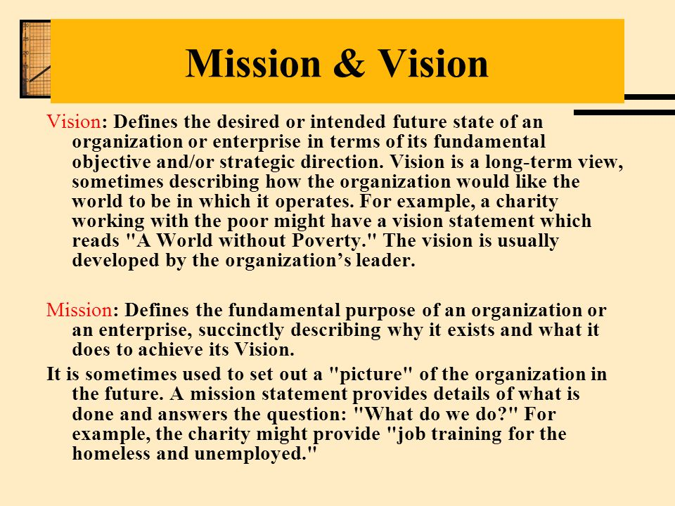 Mission Statements And Vision Statements Strategy Dinocrofo