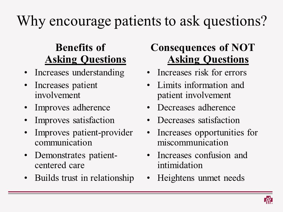 Patient information sheet for research study