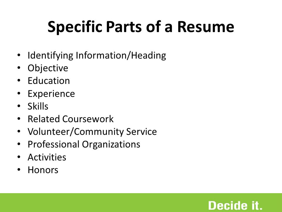 resume education related coursework Graduate school resume education – this should be the most important entry in your resume after courses relevant to your intended graduate school.