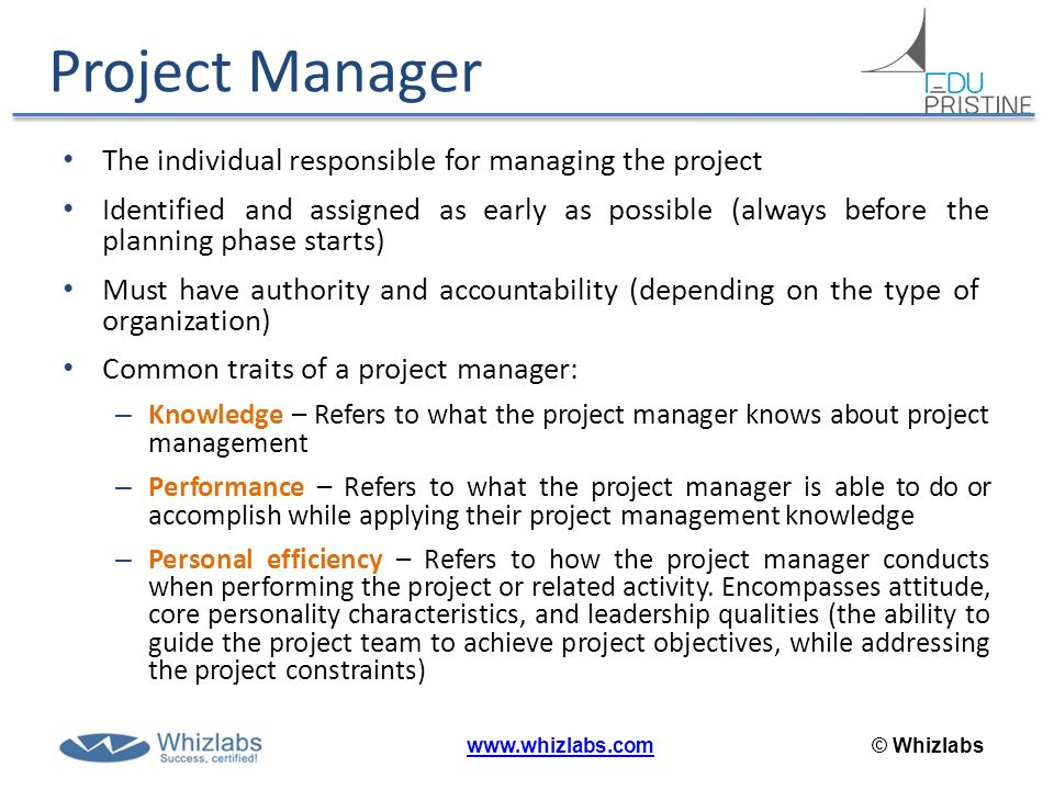 Introduction pmbok 5 0 whizlabs ppt video online - Project management office objectives ...