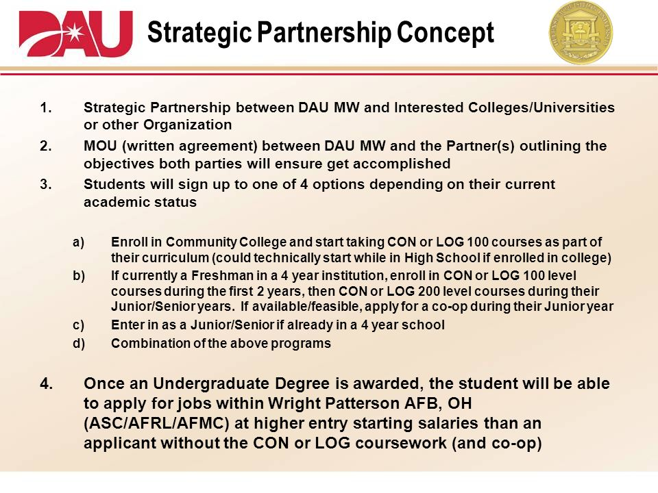 Strategic Partnership Concept