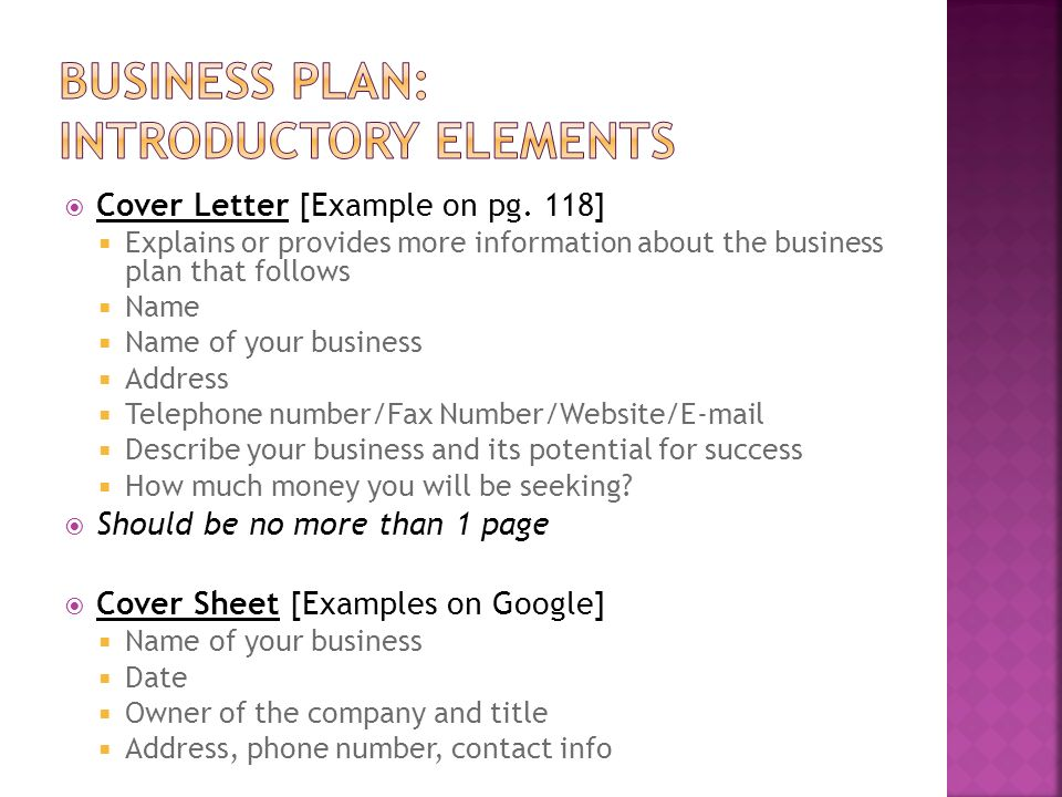 "Week One Chapter Five ""Develop A Business Plan"" - Ppt Video Online"