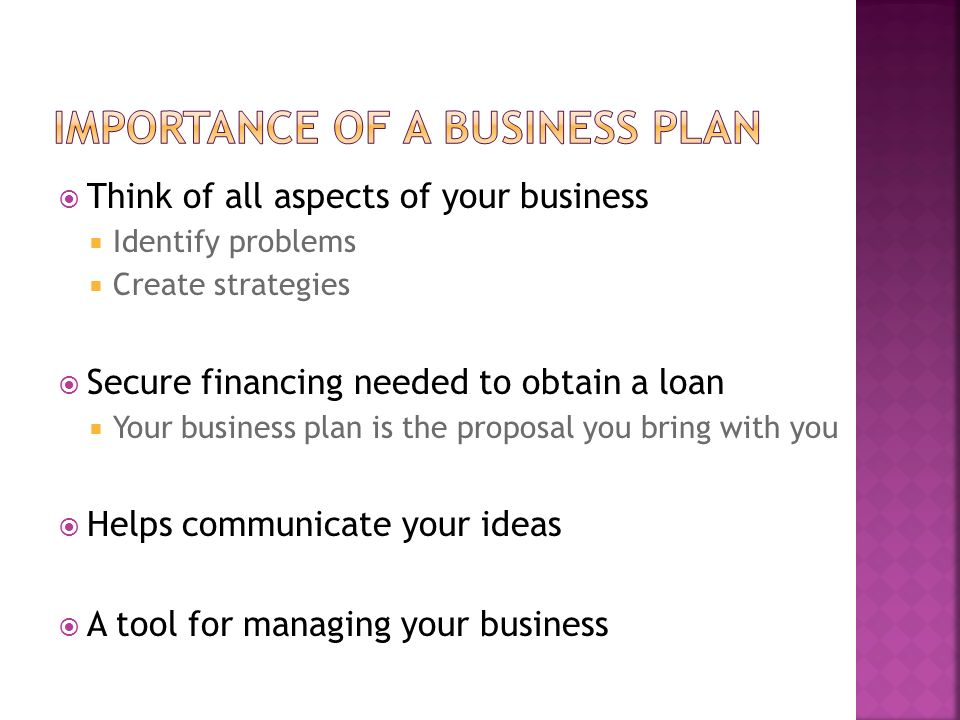 """Week One Chapter five """"Develop a Business Plan"""" - ppt download"""
