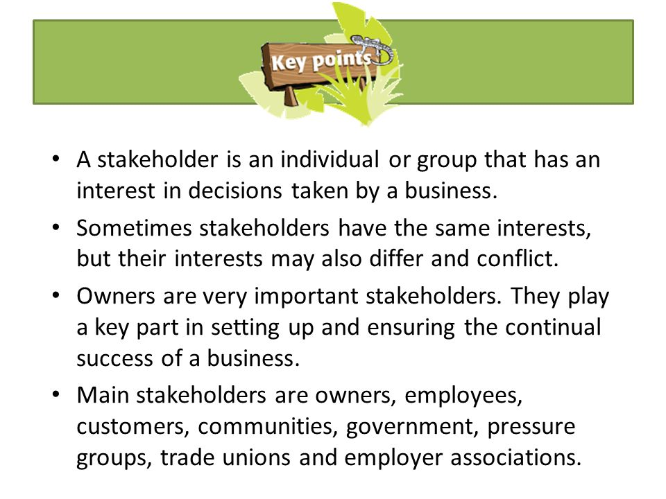 who is the bbb s most important stakeholder business or consumers Start studying strategic management learn vocabulary, terms, and more with a is a statement of a firm's business in which it intends to compete and the customers it this is because the organization's role as a taxpayer is most important to as stakeholders a major suppliers of.