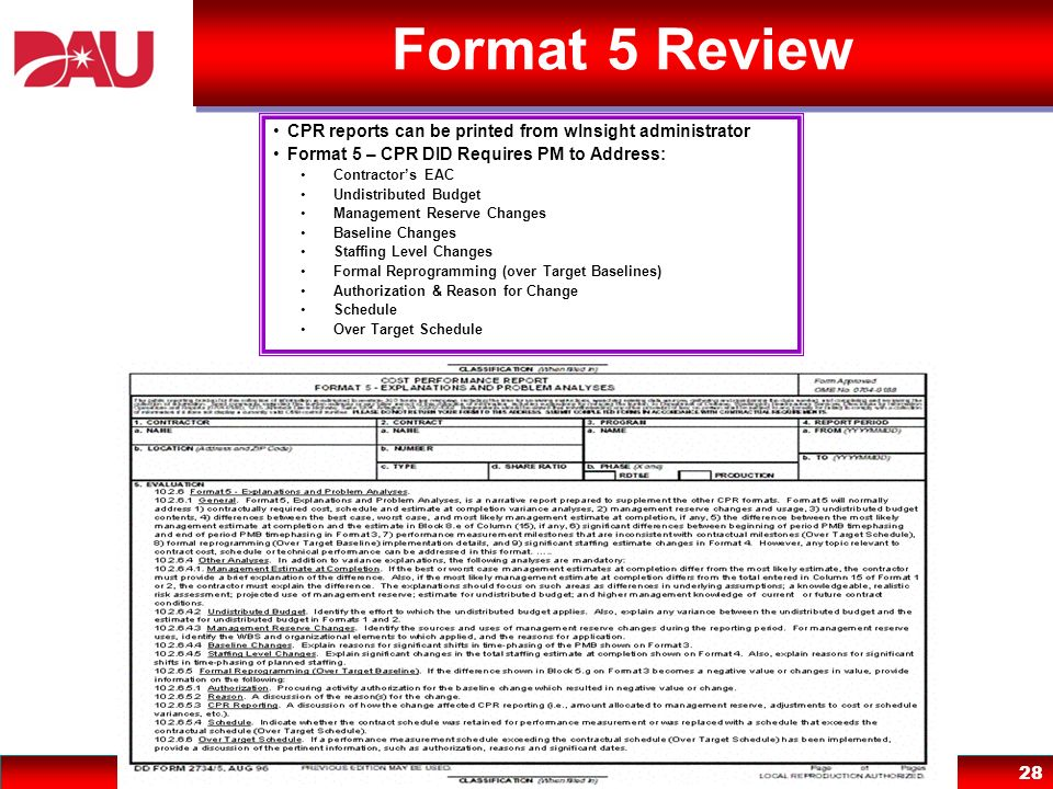 Format 5 Review CPR reports can be printed from wInsight administrator