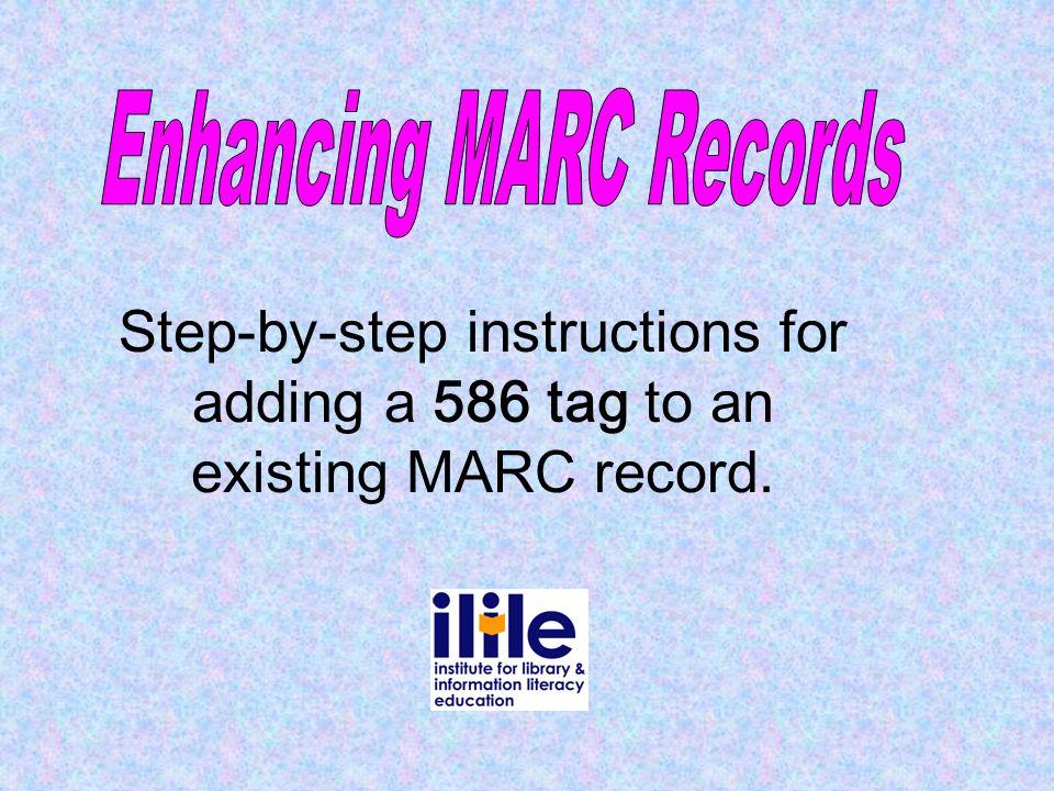 Enhancing MARC Records