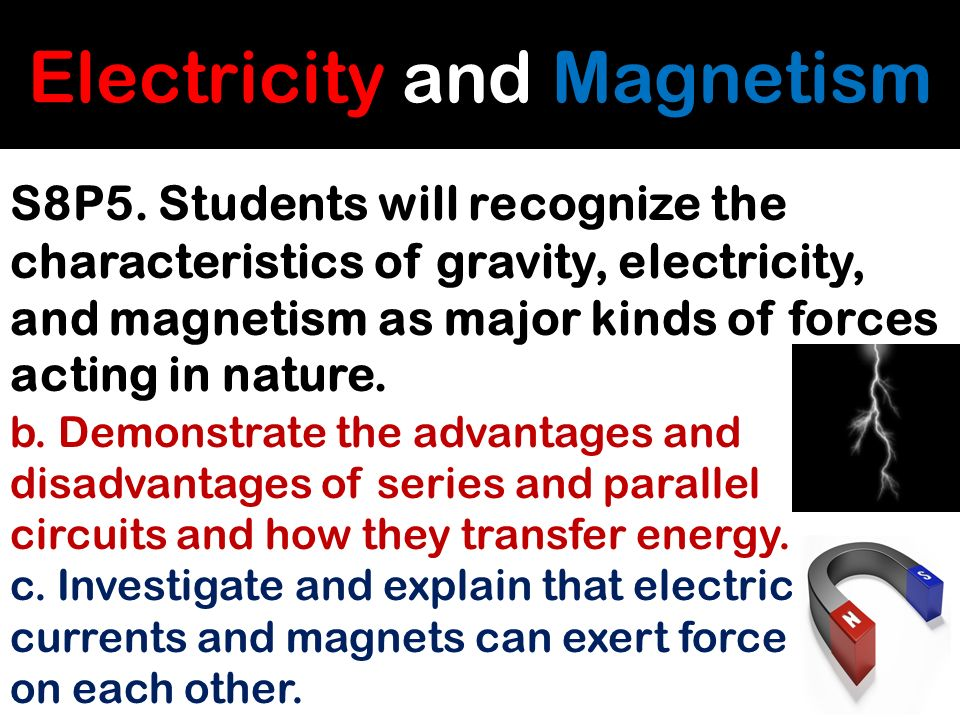 Electricity And Magnetism How Are They Similar