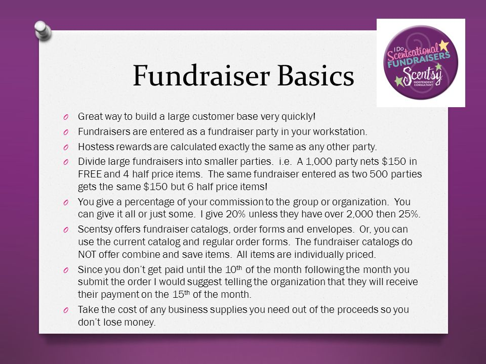 scentsy fundraiser order form pdf
