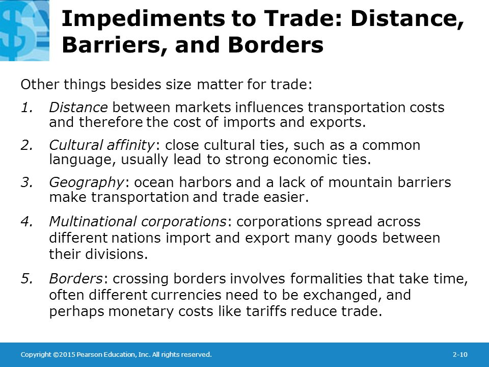 why trade barriers need to be reduced In contrast, the wto is intended to be the single global body dedicated to setting the rules for international trade, generally by reducing trade barriers among nations leading trade economists such as anne o krueger and jagdish bhagwati have been outspoken in expressing concerns that this more focused activity on.
