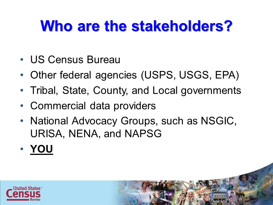 Geographic support system initiative ppt download for Census bureau title 13