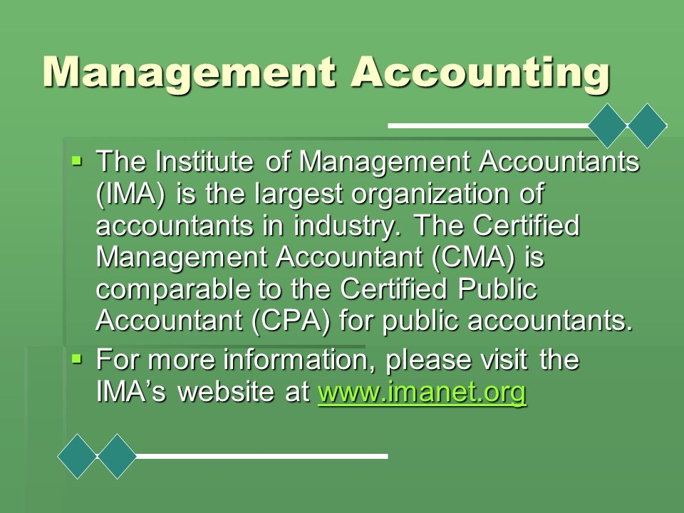 The Institute of Management Accountants' Code of Ethics