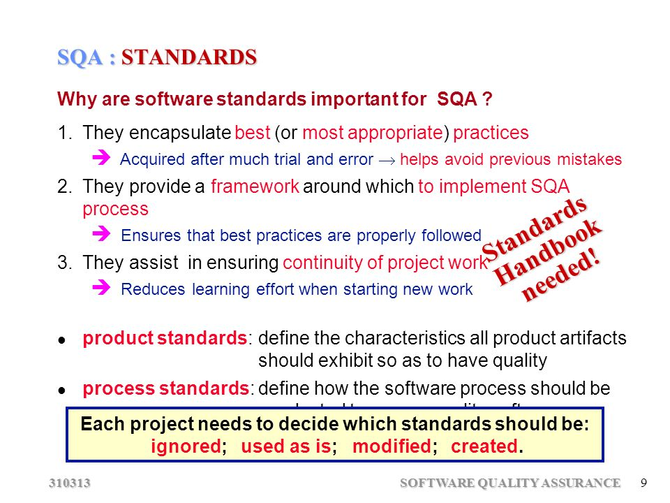 handbook software quality assurance pdf