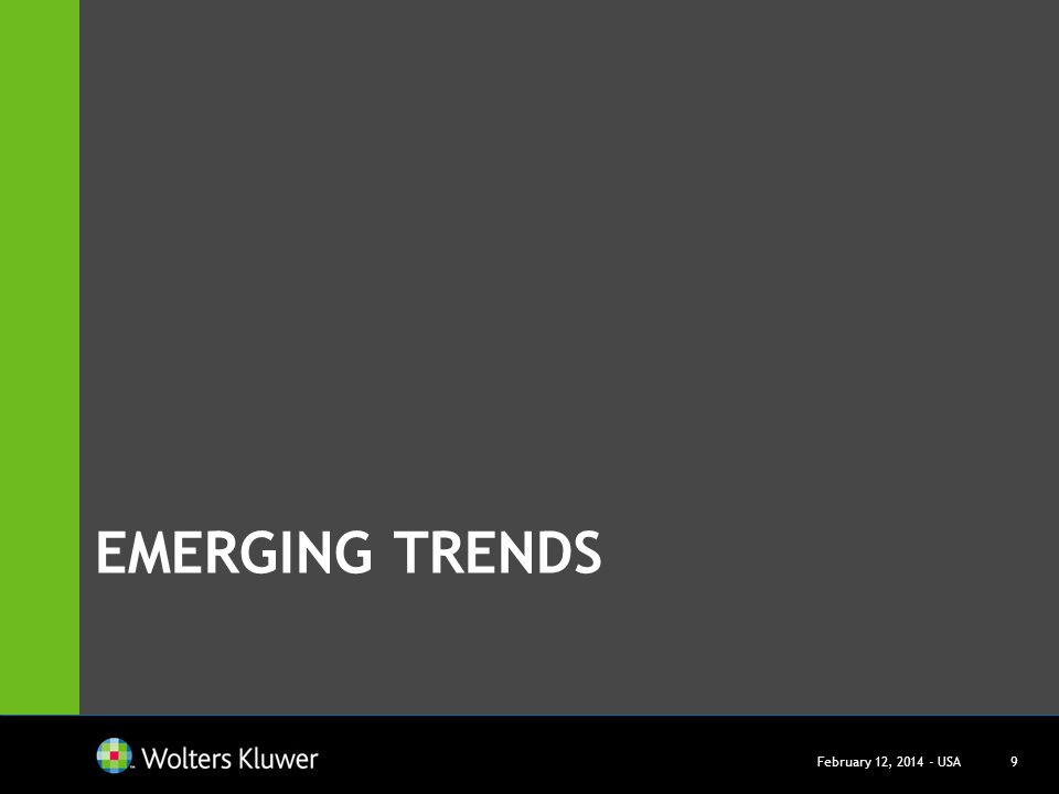 Emerging trends March 27, USA