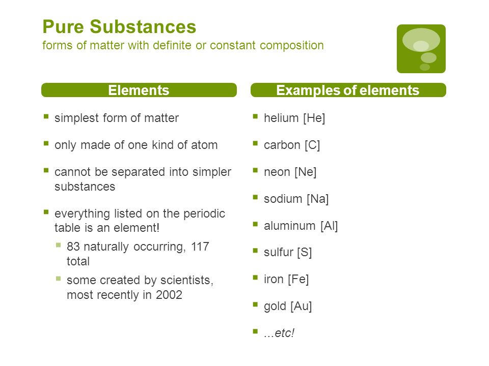 What is Matter? CP Chemistry notes Mixtures vs. Pure Substances ...
