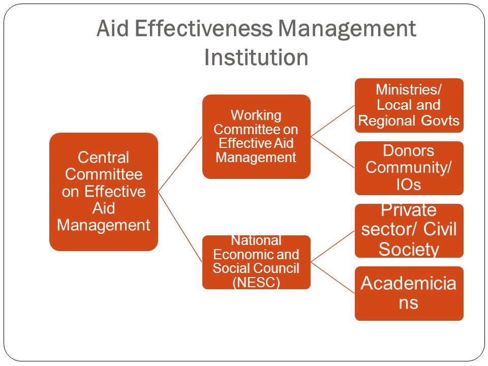 Aid Effectiveness Management Institution