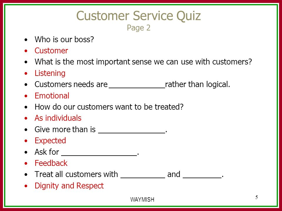 customer service quiz City & guilds customer service qualifications leading vocational education and training organisation.