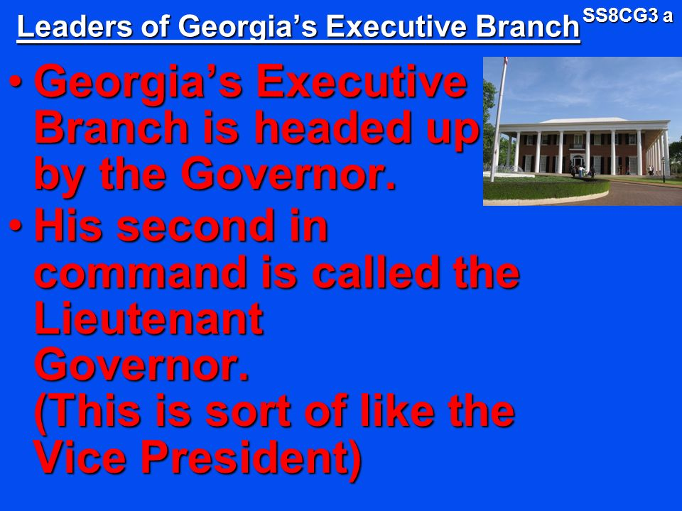 Georgia State Government ppt download – Executive Branch Worksheets
