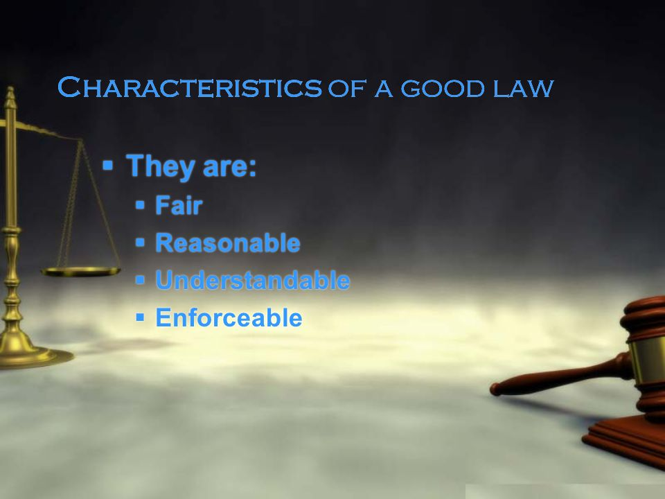 Characteristics of Common Law