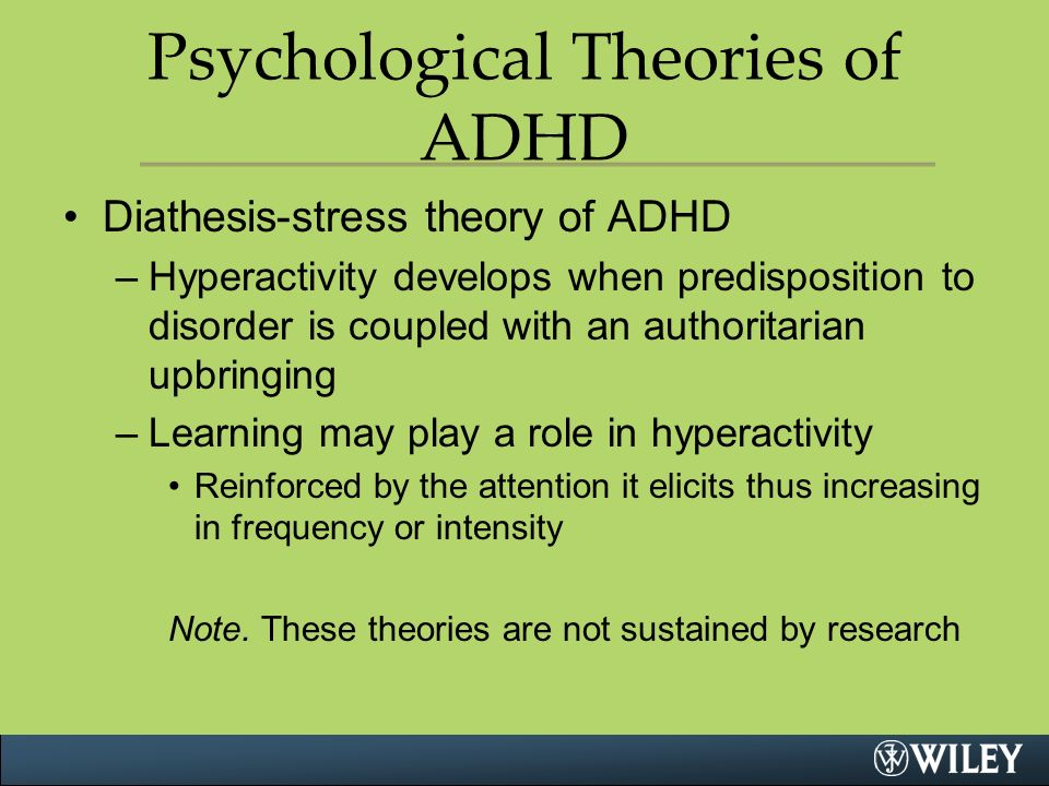 adhd psychology essay Attention deficit hyperactivity disorder (adhd) essay attention deficit hyperactivity disorder (adhd) is a behavior problem that is characterized by hyperactivity, inattention, restlessness, and impulsivity and, until recently, was diagnosed primarily in children.