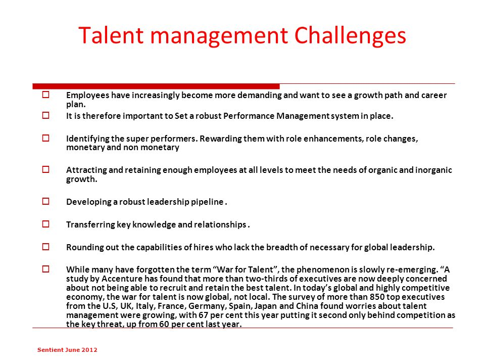 talent management problem in china The battle for china's talent  many local workers believe they will hit a glass ceiling at mncs because of a preference for expatriate management although the number of foreigners in senior .