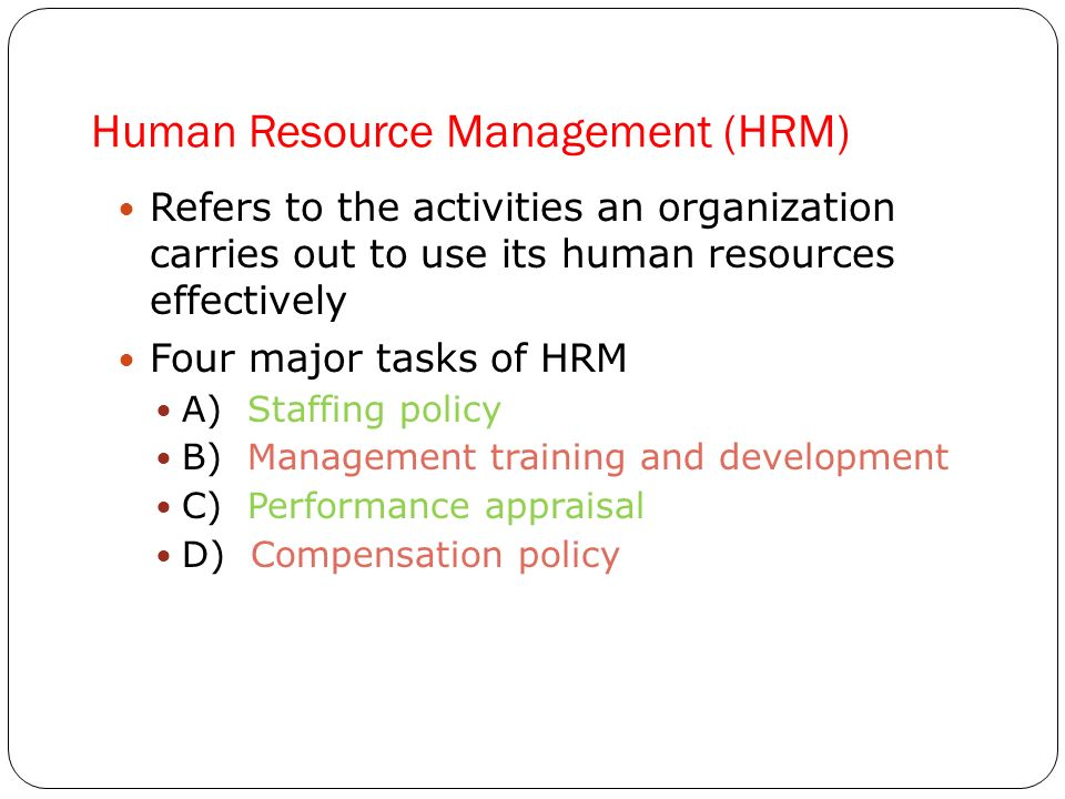 International HRM Case Study—International Assignments