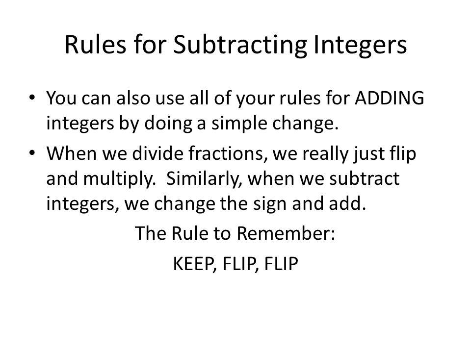 Integer Rules Worksheet Rringband – Adding and Subtracting Integer Worksheets