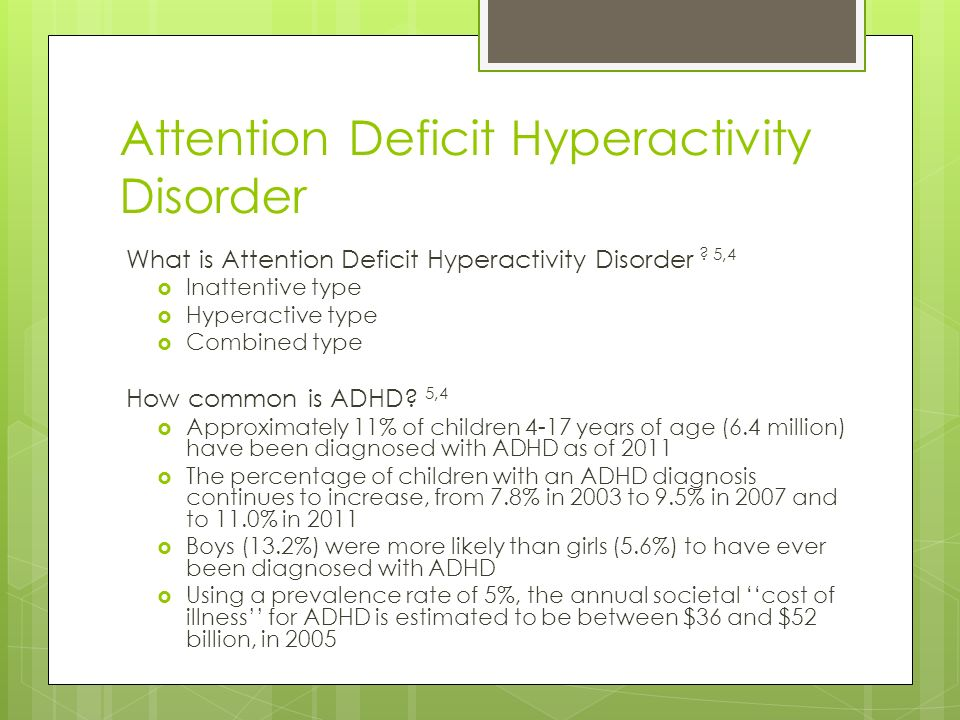 attention deficit hyperactive disorder essay 3 days ago  attention deficit hyperactivity disorder is common in children but also affects one  in  we need to address the causes, not treat the symptoms.