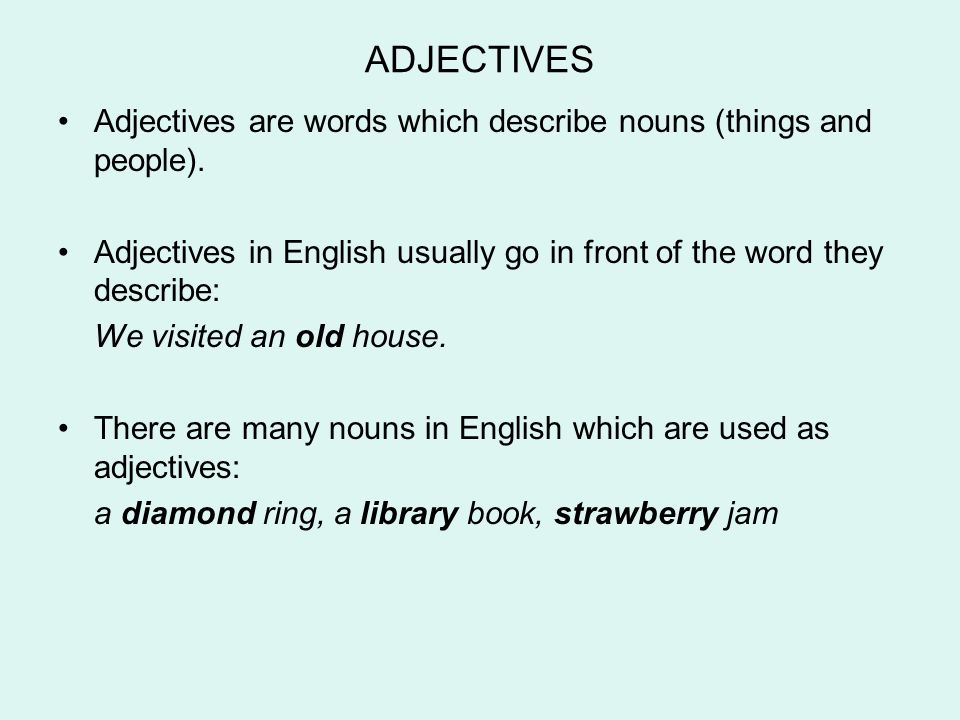 describe an old person We've prepared for the describe an object question already, but it seems that the ielts people have introduced a variation on this question: describe an old object which your family has kept for a long time you should say - what the object is - where it came from - how long it has been in your.