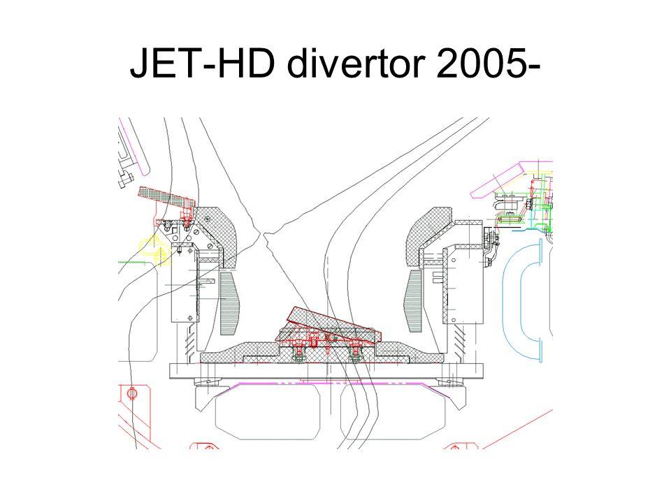 JET-HD divertor 2005-