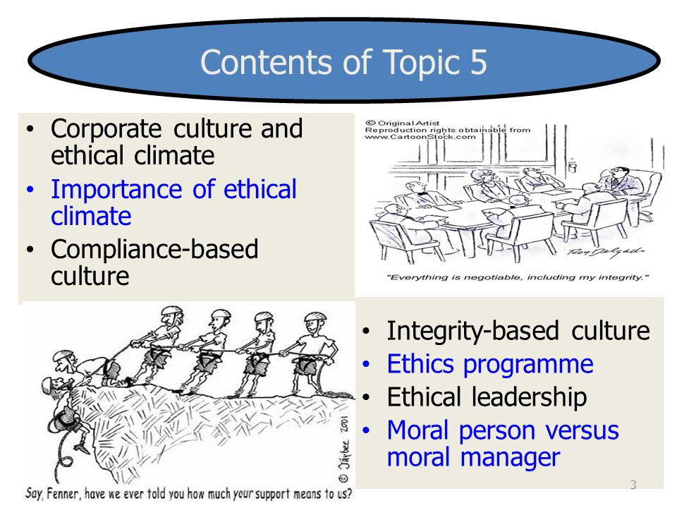 compliance based and integrity based ethics program Ethical culture and the value-based approach to integrity management: a case study of the department of correctional services  compliance-based.