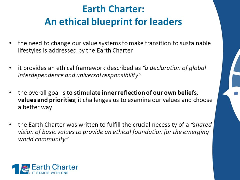 the earth charter essay Why should we care about the earth charter - exclusive report from eagle forum.