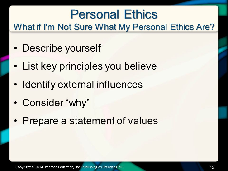prepare a personal communication ethics statement Personal relationships with other associates   15 walmart assets    statement of ethics  it means more than making ethical decisions it  demonstrates you.